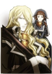 Rating: Safe Score: 4 Tags: hugue_de_watteau nakajima_atsuko trinity_blood User: Radioactive