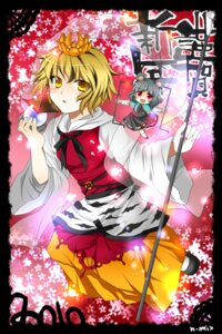 Rating: Safe Score: 4 Tags: nazrin n-mix toramaru_shou touhou User: Radioactive