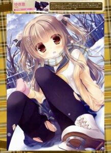 Rating: Questionable Score: 77 Tags: ice_skating pantsu pantyhose torn_clothes yukie User: drop