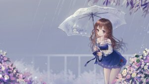 Rating: Safe Score: 17 Tags: cleavage danby_merong dress umbrella User: Mr_GT