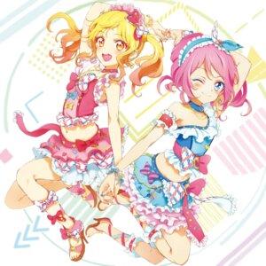 Rating: Safe Score: 21 Tags: aikatsu! aikatsu_stars! heels nagahara nijino_yume sakuraba_rola User: nphuongsun93