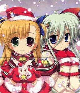 Rating: Safe Score: 7 Tags: christmas crease einhart_stratos fixme fujima_takuya heterochromia mahou_shoujo_lyrical_nanoha mahou_shoujo_lyrical_nanoha_vivid vivio User: admin2