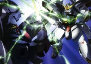 Rating: Safe Score: 10 Tags: gun gundam gundam_x mecha sword weapon User: drop