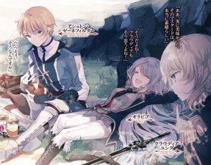 Rating: Safe Score: 11 Tags: armor cierra_(artist) shinigami_ni_sodaterareta_shoujo_wa_shikkoku_no_ken_wo_mune_ni_idaku sword tagme uniform User: kiyoe