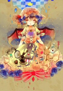 Rating: Safe Score: 15 Tags: cha_goma remilia_scarlet touhou wings User: charunetra