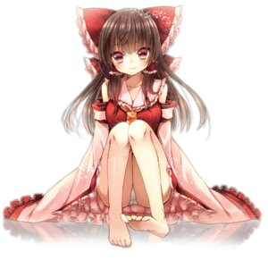 Rating: Questionable Score: 57 Tags: feet hakurei_reimu maguro_(gulen-x) pantsu touhou User: 椎名深夏
