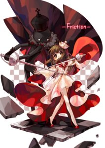 Rating: Safe Score: 26 Tags: deemo deemo_(character) dress harrymiao heels little_girl sword thighhighs User: charunetra