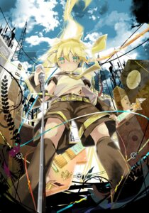 Rating: Safe Score: 8 Tags: hekicha kagamine_len vocaloid User: fireattack
