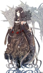 Rating: Safe Score: 20 Tags: assassin_of_red_(fate/apocrypha) cleavage dress fate/apocrypha fate/grand_order fate/stay_night heels mian.h pointy_ears semiramis_(fate) signed User: charunetra