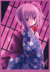 Rating: Safe Score: 74 Tags: minato_tomoka ro-kyu-bu! tinkle yukata User: petopeto