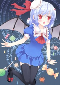 Rating: Safe Score: 38 Tags: huohai remilia_scarlet thighhighs touhou User: fireattack