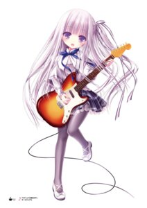 Rating: Safe Score: 23 Tags: card dress goto_jun guitar heels pantyhose tenshi_no_three_piece! tinkle User: kiyoe