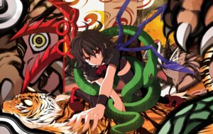 Rating: Safe Score: 10 Tags: houjuu_nue rondo_umigame thighhighs touhou User: Radioactive