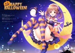 Rating: Safe Score: 22 Tags: halloween maid mizukoshi_mayu the_idolm@ster the_idolm@ster_cinderella_girls thighhighs totoki_airi User: kiyoe