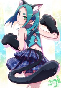 Rating: Safe Score: 32 Tags: animal_ears bakemonogatari makicha monogatari_(series) nekomimi nisemonogatari ononoki_yotsugi owarimonogatari pointy_ears tail tsukimonogatari User: yanis