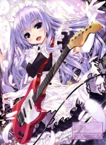 Rating: Safe Score: 55 Tags: guitar maid shintarou wonder_4_world User: drop