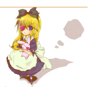 Rating: Safe Score: 7 Tags: alice alice_in_wonderland eyepatch kuromame_koto User: charunetra