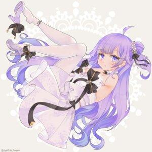 Rating: Safe Score: 6 Tags: azur_lane dress heels pantyhose saekiya_sabou unicorn_(azur_lane) User: Mr_GT