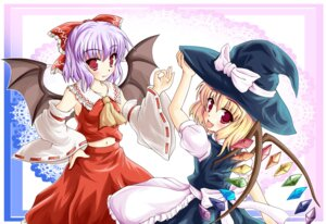 Rating: Safe Score: 7 Tags: cosplay flandre_scarlet hakurei_reimu hiiragi_tomoka kirisame_marisa remilia_scarlet touhou wings User: Radioactive