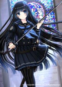 Rating: Safe Score: 77 Tags: kaku-san-sei_million_arthur kazuharu_kina pantyhose seifuku sword User: 椎名深夏