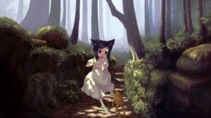 Rating: Safe Score: 19 Tags: amami_mikihiro animal_ears dress nekomimi tail wallpaper User: Radioactive