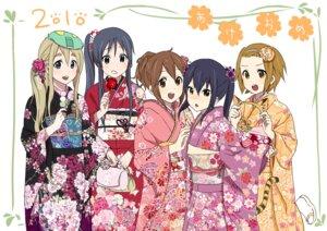 Rating: Safe Score: 21 Tags: akiyama_mio hirasawa_yui kimono kishida_nica k-on! kotobuki_tsumugi nakano_azusa tainaka_ritsu User: paku-paku