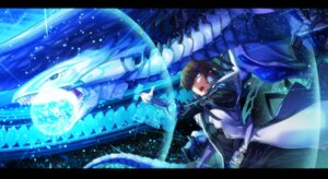Rating: Safe Score: 10 Tags: akagi_asahito blue_eyes_white_dragon kaiba_seto male yugioh User: charunetra