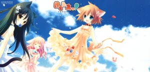 Rating: Safe Score: 35 Tags: animal_ears dress fixed i.s.w nekomimi sakurazawa_izumi summer_dress tail User: fireattack