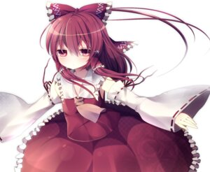 Rating: Safe Score: 14 Tags: hakurei_reimu rairateru touhou User: Nekotsúh