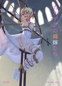 Rating: Explicit Score: 43 Tags: bondage breasts dress fate/grand_order feet nipples no_bra nopan pussy_juice saber saber_lily see_through stockings thighhighs tokinohimitsu wedding_dress User: RyuZU