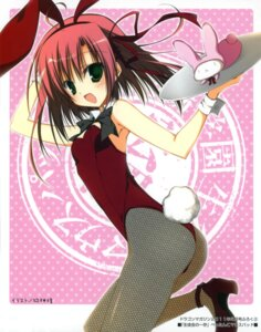 Rating: Questionable Score: 51 Tags: animal_ears ass bunny_ears bunny_girl fishnets inugami_kira pantyhose sakurano_kurimu seitokai_no_ichizon tail User: crim