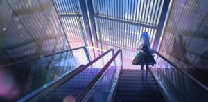 Rating: Safe Score: 41 Tags: artist_revision dress hatsune_miku kvpk5428 landscape vocaloid User: BattlequeenYume