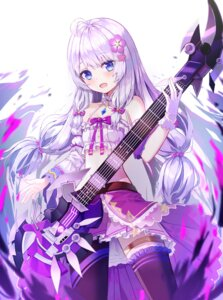 Rating: Questionable Score: 6 Tags: garter guitar soul_worker tagme thighhighs User: Mr_GT