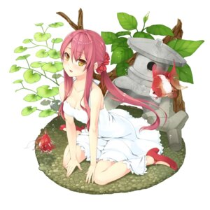Rating: Safe Score: 54 Tags: cleavage dress unasaka_ryou User: fairyren
