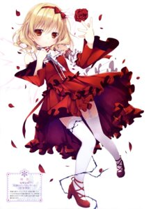 Rating: Safe Score: 103 Tags: chikotam dress genwaku_no_divine_doll heels shuma stockings thighhighs weapon User: drop