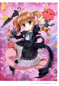 Rating: Questionable Score: 12 Tags: dress fujima_takuya gothic_lolita lolita_fashion mermaid tagme tail umbrella User: Radioactive