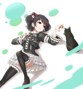 Rating: Safe Score: 37 Tags: chou_denji_mayuge dress gothic_lolita lolita_fashion neko thighhighs User: Mr_GT