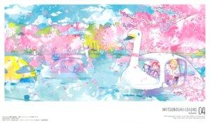 Rating: Safe Score: 15 Tags: akamatsu_yui kotoha_(mitsuboshi_colors) landscape mitsuboshi_colors sacchan_(mitsuboshi_colors) yokota_takumi User: xiaowufeixia