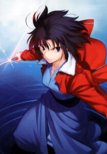 Rating: Safe Score: 20 Tags: kara_no_kyoukai ryougi_shiki takeuchi_takashi type-moon User: fireattack