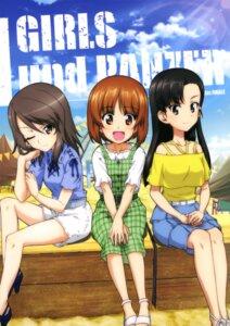Rating: Safe Score: 15 Tags: dress girls_und_panzer heels mika_(girls_und_panzer) nishi_kinuyo nishizumi_miho tagme User: drop