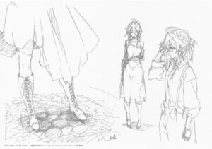 Rating: Safe Score: 10 Tags: monochrome sketch violet_evergarden violet_evergarden_(character) User: tuyenoaminhnhan
