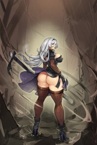 Rating: Questionable Score: 10 Tags: ass gurimjang heels nier_automata pantsu skirt_lift thighhighs thong yorha_no.2_type_b User: Mr_GT