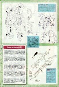Rating: Safe Score: 3 Tags: character_design gun gundam gyoubu_ippei mecha monochrome User: koo35