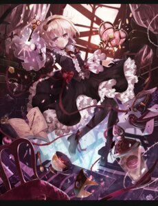 Rating: Safe Score: 27 Tags: komeiji_satori pantyhose sumisu_(mondo) touhou User: Mr_GT