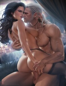 Rating: Explicit Score: 49 Tags: ass garter_belt geralt_of_rivia naked nipples penis sakimichan sex stockings the_witcher_3 thighhighs uncensored yennefer_of_vengerberg User: BattlequeenYume