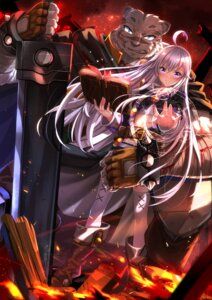 Rating: Questionable Score: 31 Tags: mercenary sword swordsouls thighhighs zero_(zero_kara_hajimeru_mahou_no_sho) zero_kara_hajimeru_mahou_no_sho User: fireattack