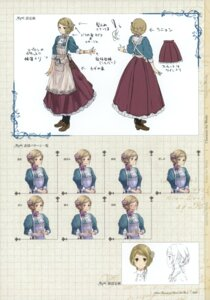 Rating: Safe Score: 5 Tags: atelier atelier_rorona character_design expression kishida_mel tiffani_hildebrand User: crim