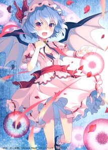 Rating: Questionable Score: 22 Tags: cleavage remilia_scarlet rie skirt_lift touhou wings User: Radioactive