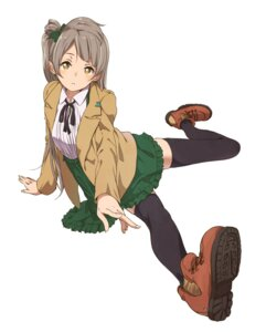 Rating: Safe Score: 30 Tags: haine love_live! minami_kotori open_shirt seifuku thighhighs User: blooregardo