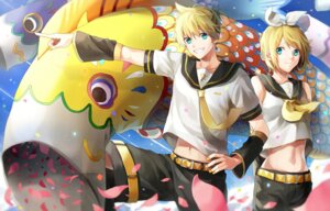 Rating: Safe Score: 9 Tags: kagamine_len kagamine_rin p.rupon vocaloid User: charunetra